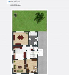 Immobiliensuche - Grundriss EG