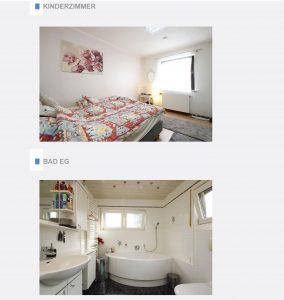 Immobiliensuche - Innenraumansichten Erdgeschoss
