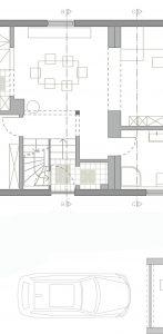 Grundriss im Eingangsbereich