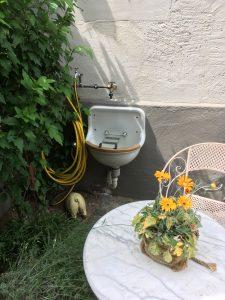 Außenraumwaschbecken
