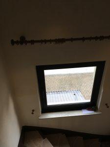 Zustand des Treppenhausfensters beim Kauf