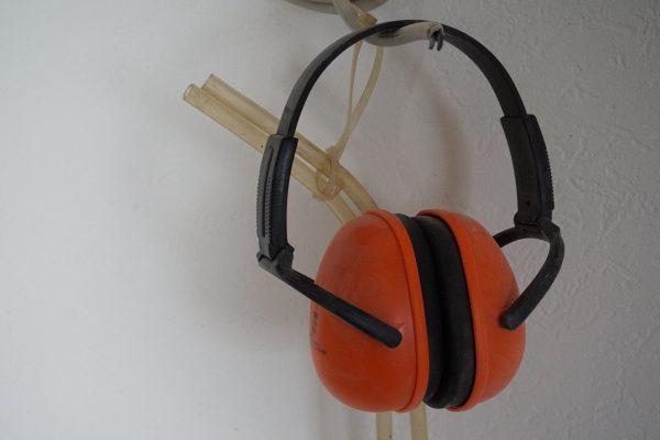 Gehörschutz - gerade beim Rückbau unersetzlich