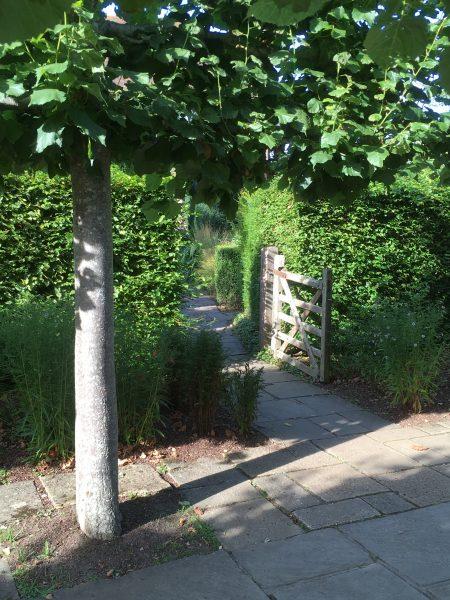 Tor im Sissinghurst Castle Garden