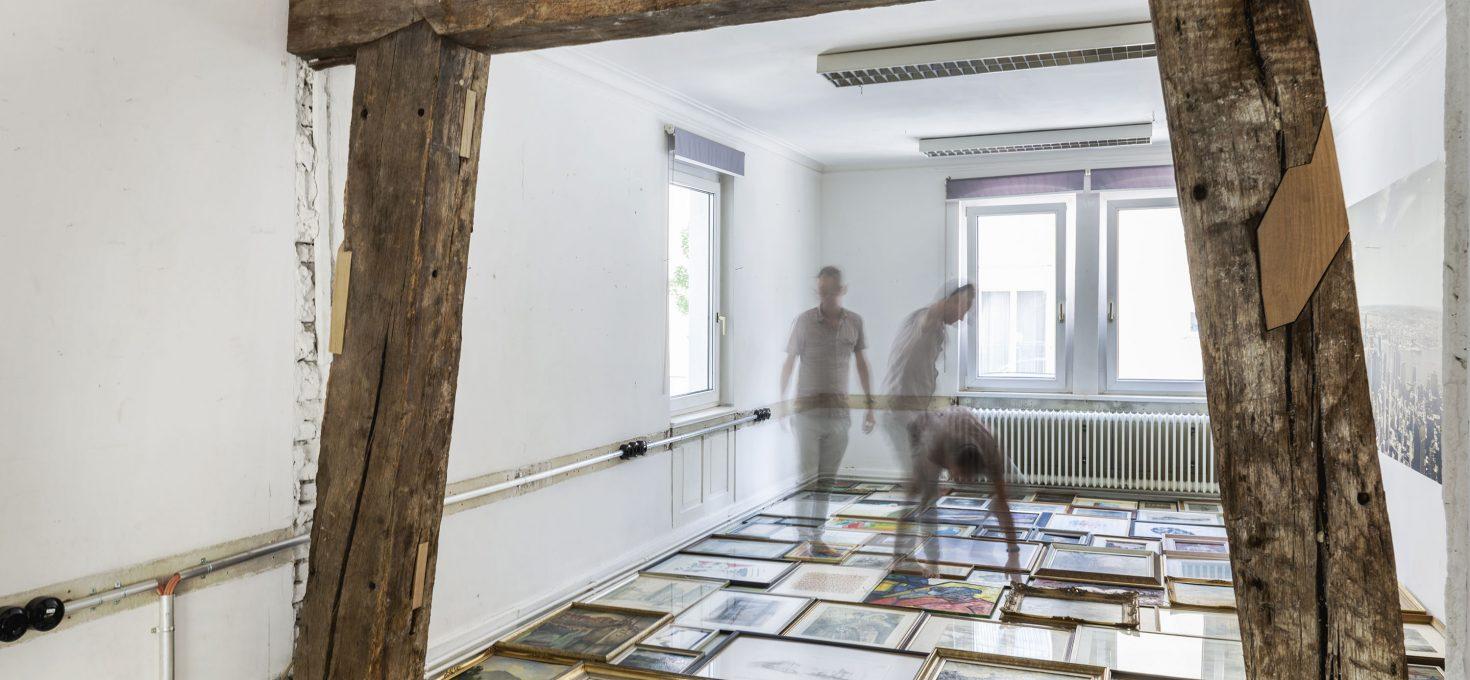Ausstellung gemalt und vergessen EINE ZEITREISE
