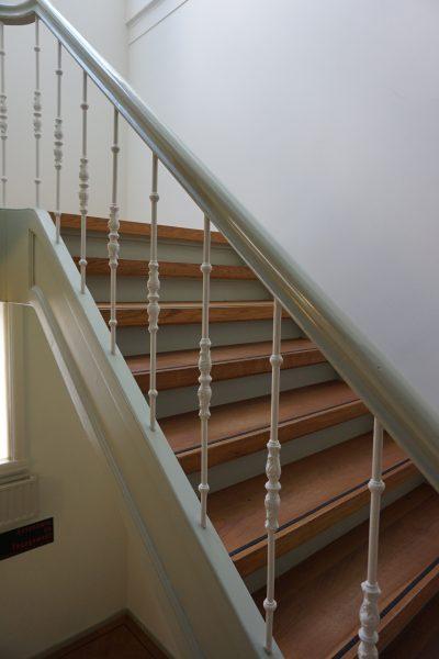 Ein Treppenhaus mit Geschichte