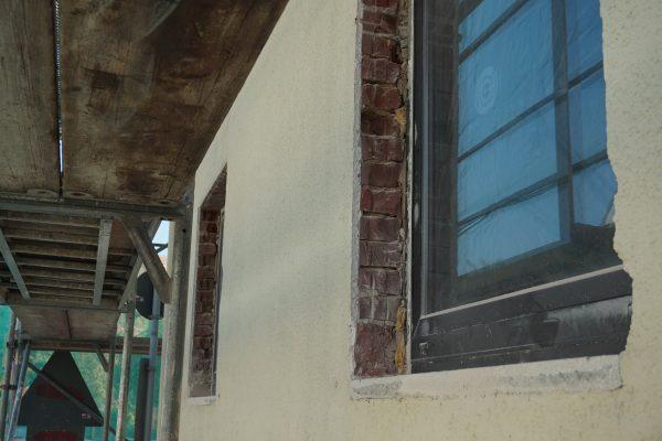 Vorbereitung der Sanierung - Fenster
