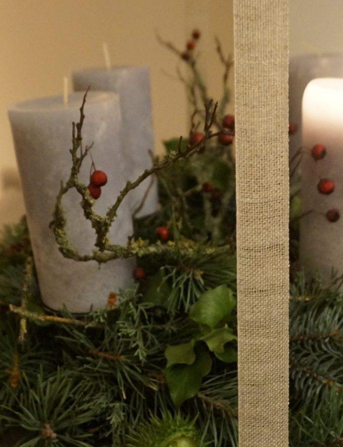 Besinnlich sanieren und ein kindgerechter Adventskranz